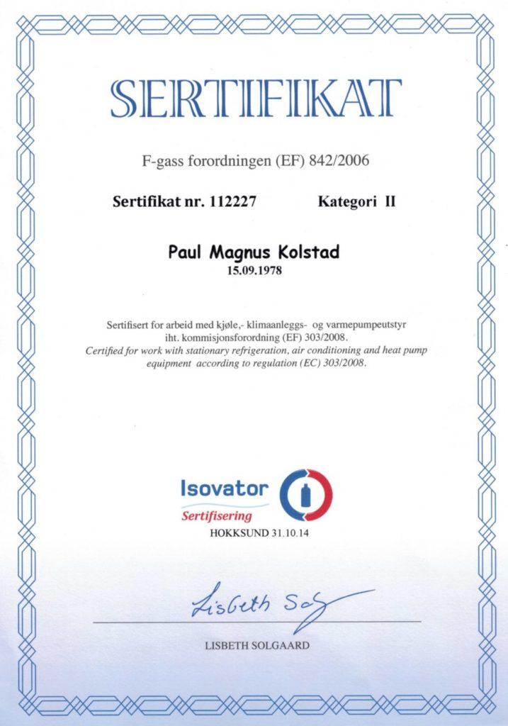 sertifisering
